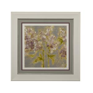 Bassett Mirror Hollywood Glam Etheral Flowers I
