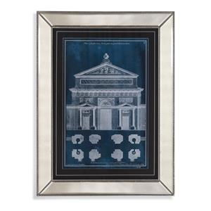 Bassett Mirror Hollywood Glam Palace Facade Blueprint I