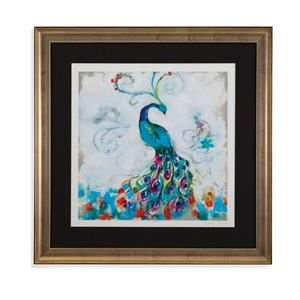 Bassett Mirror Hollywood Glam Confetti Peacock I
