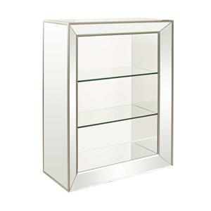 Bassett Mirror Hollywood Glam Minetta Bookcase