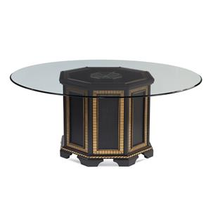 Bassett Mirror Hollywood Glam Villa Granada Dining Table