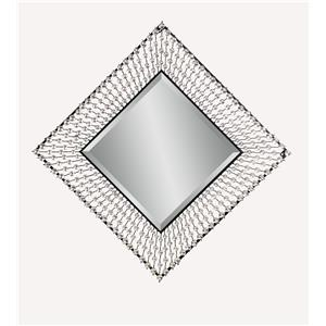 Bassett Mirror Hollywood Glam Dazzled Wall Mirror