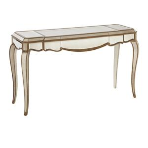 Bassett Mirror Hollywood Glam Collette Cabriole Leg Console