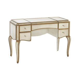 Bassett Mirror Hollywood Glam Collette Cabriole Leg Desk