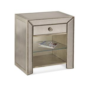 Bassett Mirror Hollywood Glam Murano Side Chest