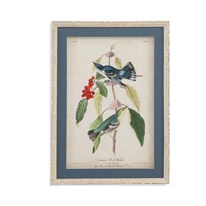 Bassett Mirror Home Accents Cerulean Wood Warbler