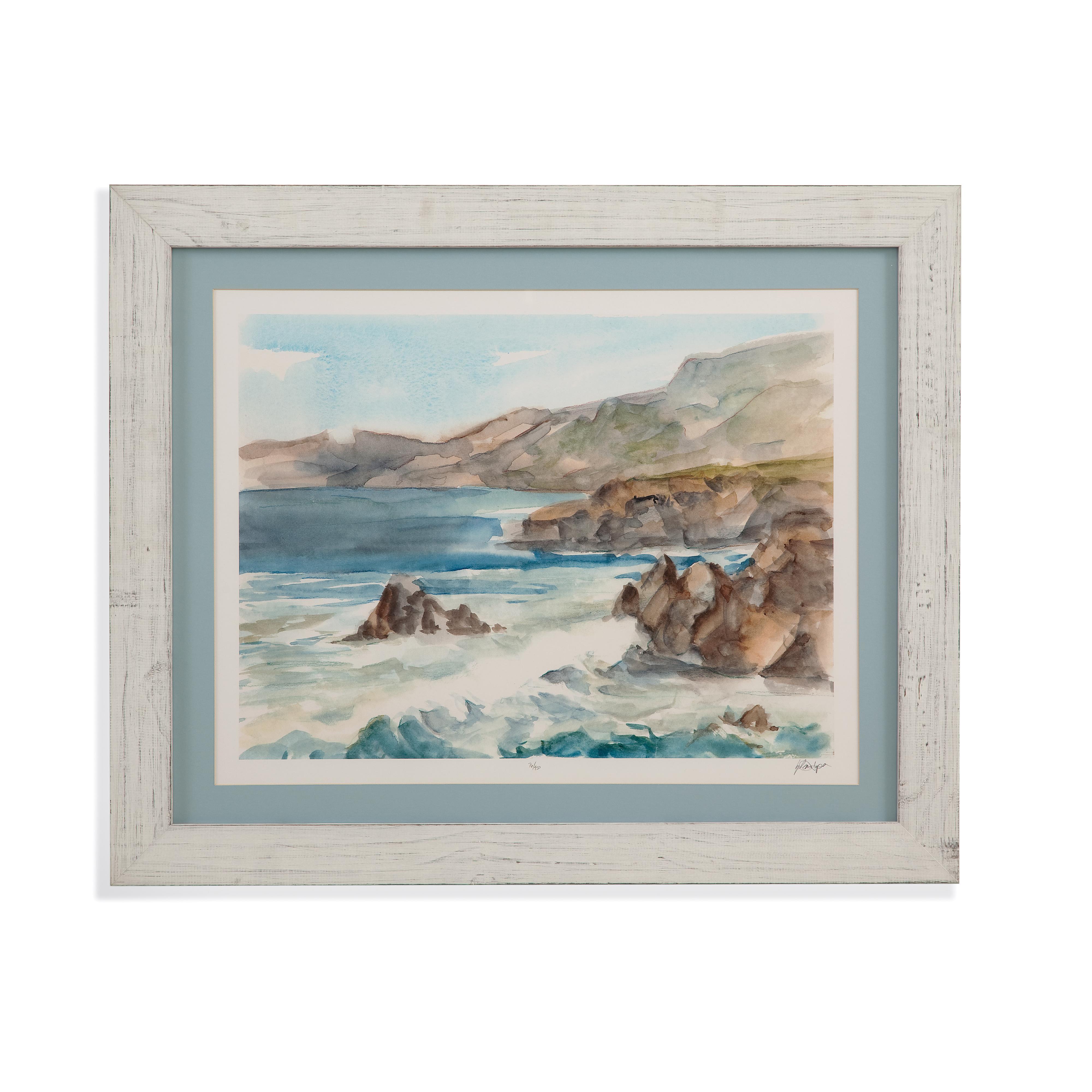 Bassett Furniture Milford Ct: Bassett Mirror Home Accents 9900-815B Coastal Watercolor