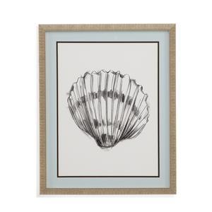 Bassett Mirror Home Accents Shell Sketch VI