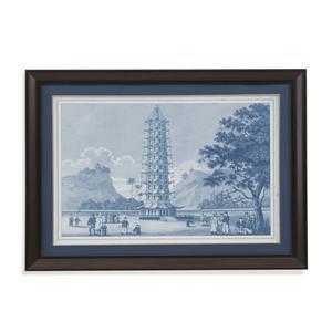 Bassett Mirror Home Accents Porcelain Pagoda