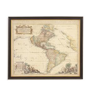 Antique Map of America II