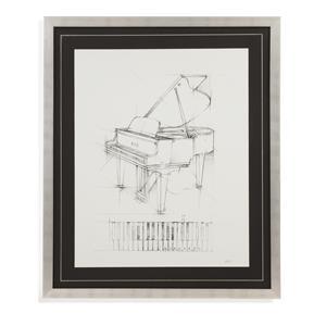 Bassett Mirror Home Accents Piano Sketch