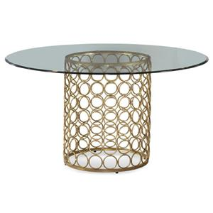 Bassett Mirror MidCentury Modern Round Table