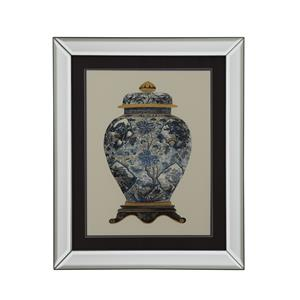 Bassett Mirror Old World Blue Porcelain Vase II