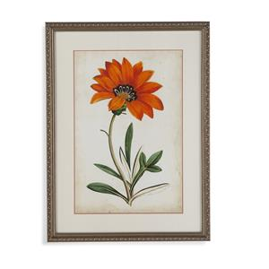 Bassett Mirror Old World Tangerine Floral I