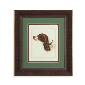 Bassett Mirror Old World Danchin Cocker Spaniel