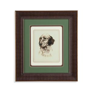 Bassett Mirror Old World Danchin Setter