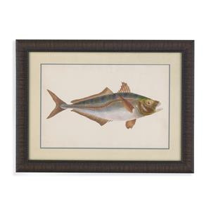 Bassett Mirror Old World Donovan Antique Fish III