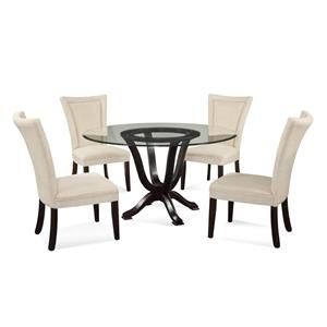 Bassett Mirror Old World Serenity Casual Dining Set