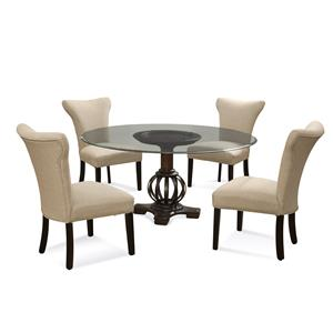 Bassett Mirror Old World Grenadine Casual Dining Set