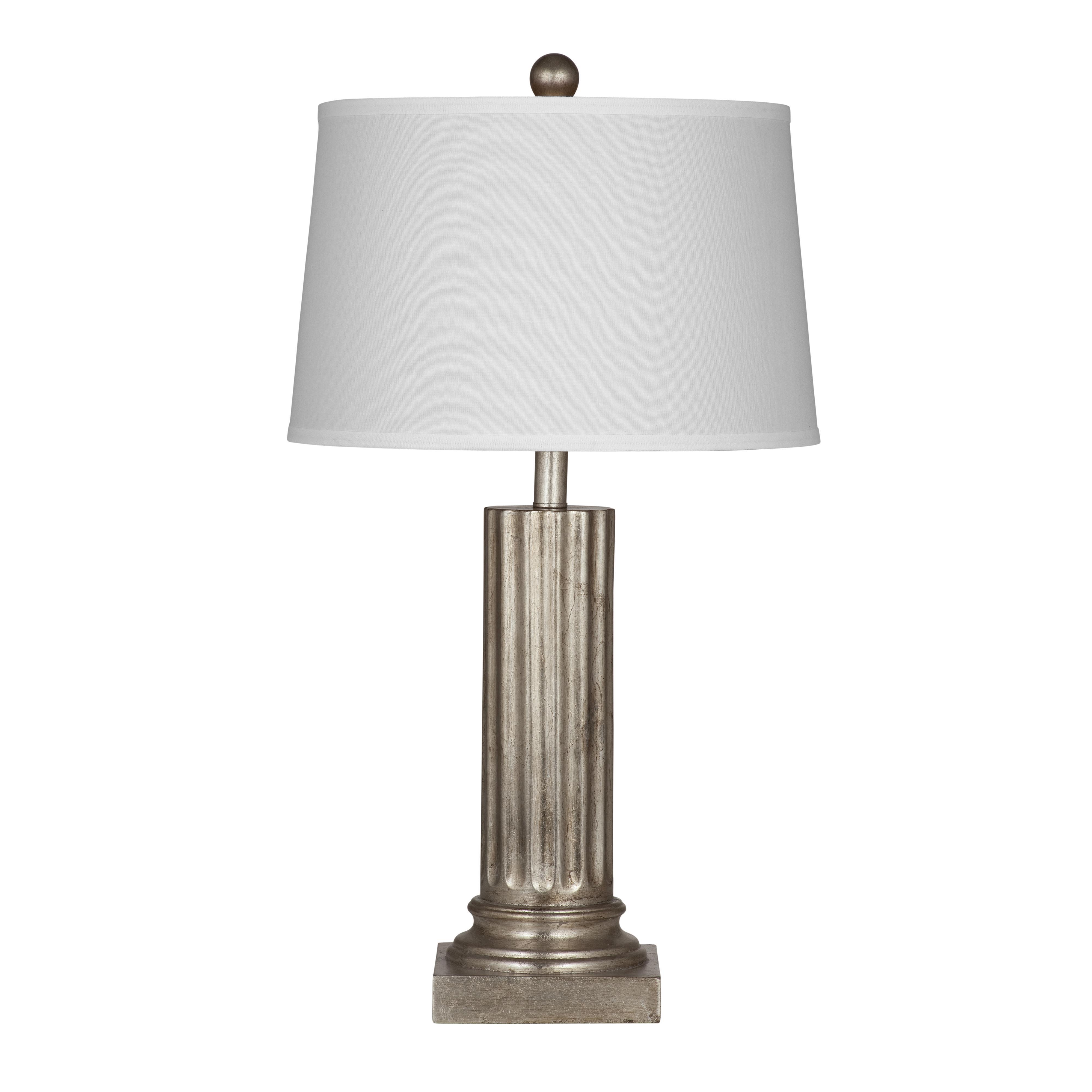 Pierce Silver Table Lamp