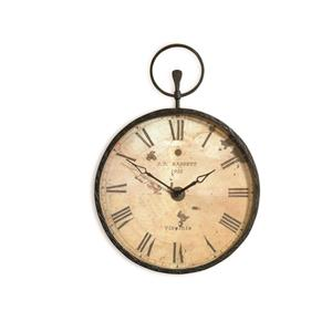 Bassett Mirror Old World Papa's Pocket Watch Clock
