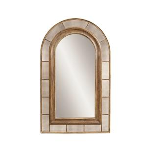 Bassett Mirror Old World Clark Arched Leaner Mirror