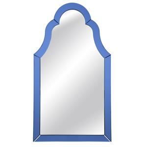 Bassett Mirror Old World Cobalt Blue Wall Mirror
