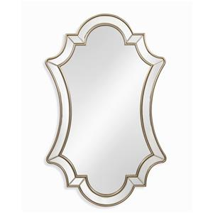 Bassett Mirror Old World Delia Wall Mirror