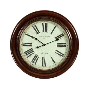 Bassett Mirror Old World Brinkley Clock