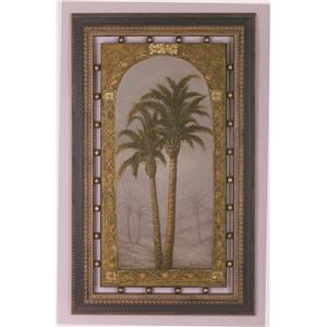 Bassett Mirror Pan Pacific Palms I