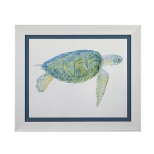 Bassett Mirror Pan Pacific Tranquil Sea Turtle I