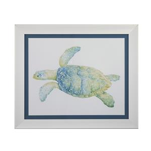 Bassett Mirror Pan Pacific Tranquil Sea Turtle II