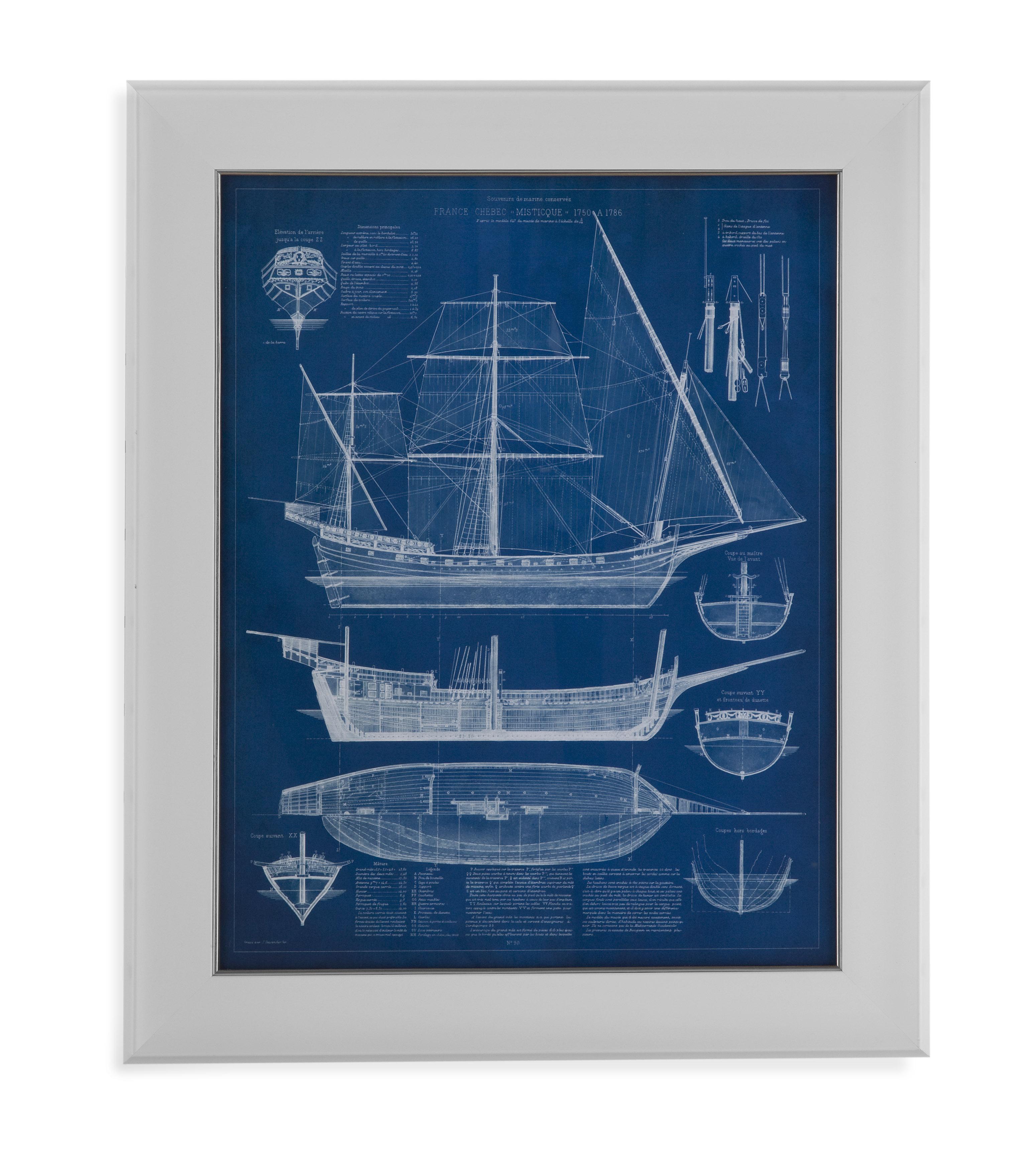 Bassett Furniture Milford Ct: Bassett Mirror Pan Pacific 9900-528A Antique Ship