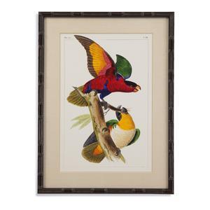 Bassett Mirror Pan Pacific Lemaire Parrots I