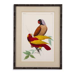 Bassett Mirror Pan Pacific Lemaire Parrots II