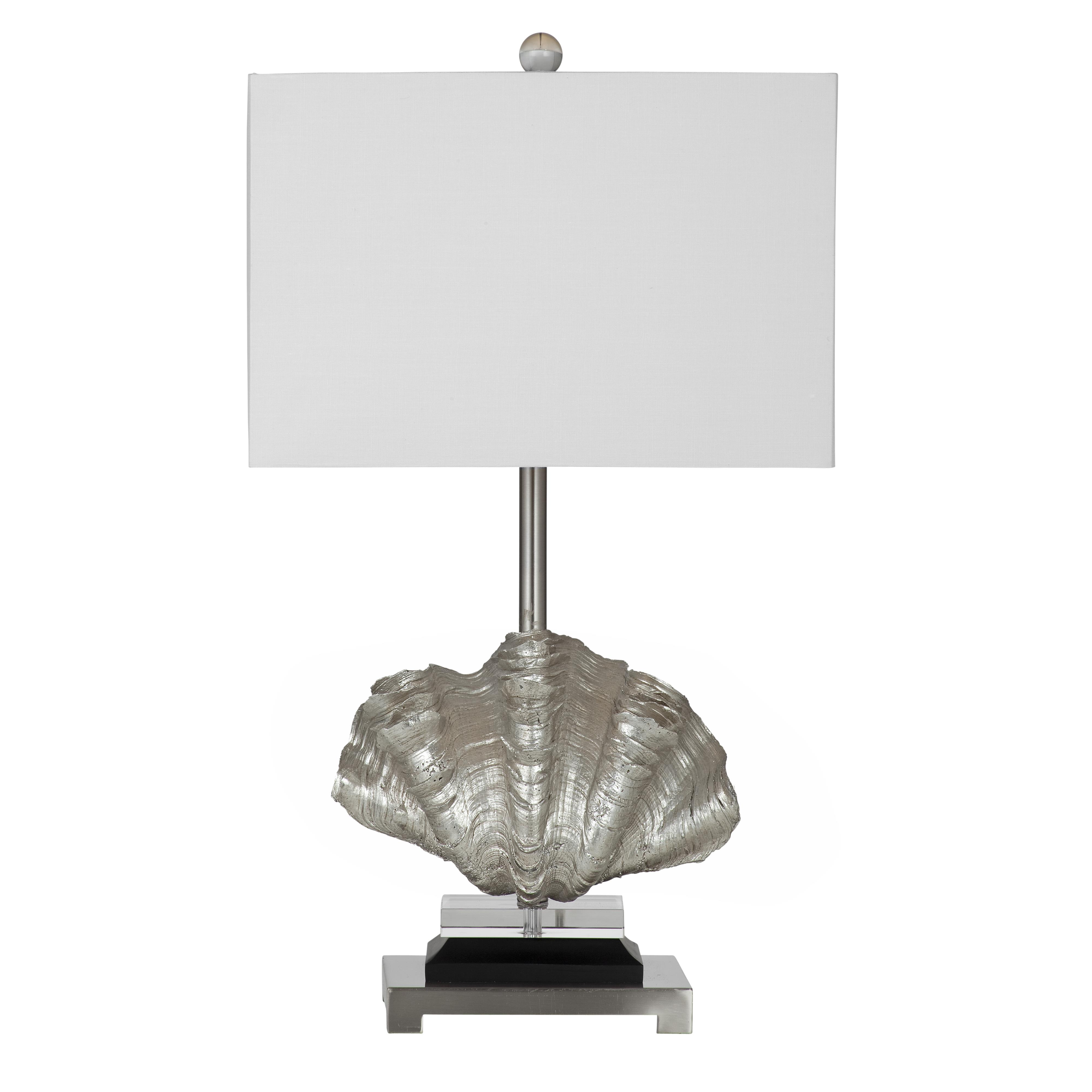 Silver Shells Table Lamp