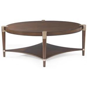 Cole Oval Cocktail Table