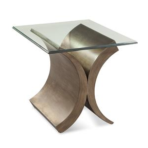 Symmetry Rectangle End Table
