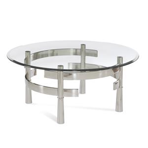 Contour Round Cocktail Table