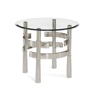 Contour Round End Table