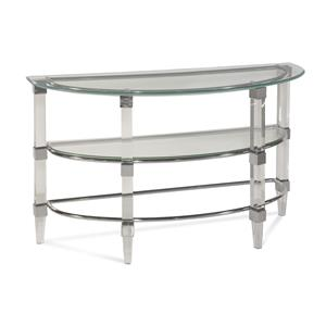 Bassett Mirror Thoroughly Modern Cristal Console