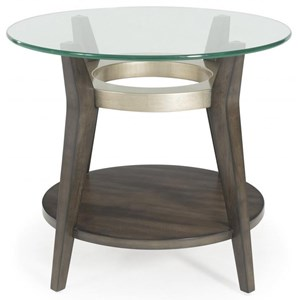 Elston Round End Table