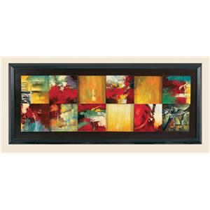 Red Abstract- Canvas Frame