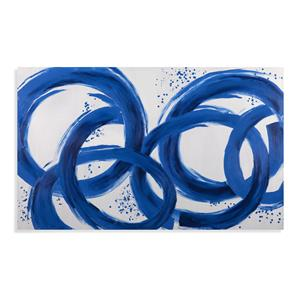 Bassett Mirror Thoroughly Modern Blue Loops