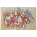 Bassett Mirror Thoroughly Modern Color Explosion Wall Art - Item Number: 7300-287
