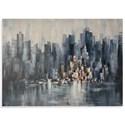 Bassett Mirror Thoroughly Modern City Skyline Wall Art - Item Number: 7300-294