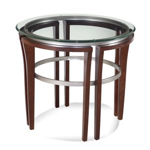 Fusion Round End Table