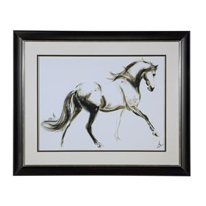 Bassett Mirror Thoroughly Modern Cantering Horse