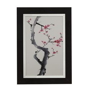 Bassett Mirror Thoroughly Modern Plum Blossom Branch I