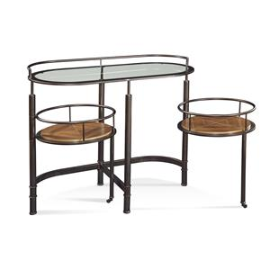 Bassett Mirror Thoroughly Modern Bar Cart